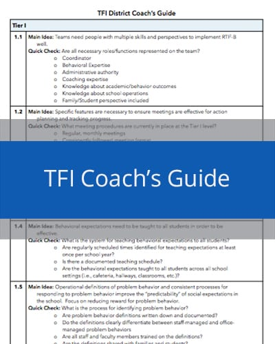 TFI District Coaches Guide