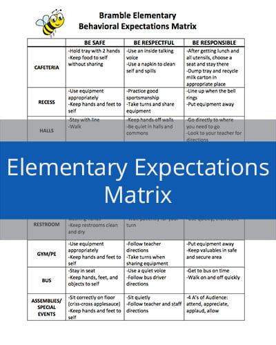 Elementary Expectations Matrix