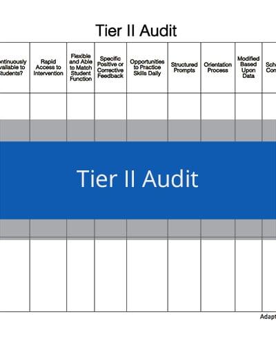 Tier II Audit