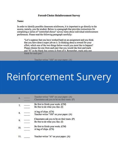 Reinforcement Survey