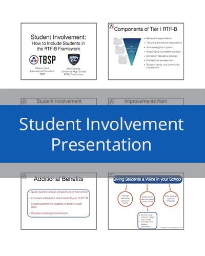 Student Involvement Presentation