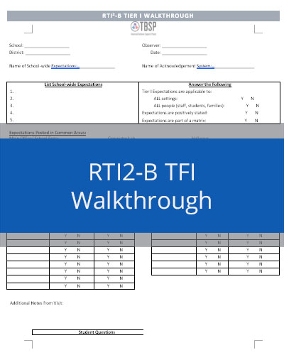 How to view TFI data reports